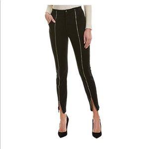 A.C.L Zander zippier Black Intermix Pants Sz 6 NWT